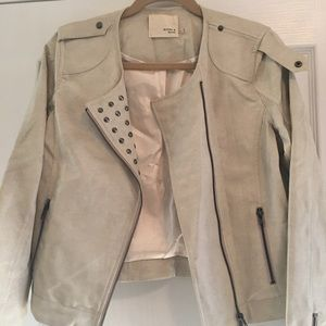 Jackets & Blazers - Rhyme and Echo Faux Leather Moto Jacket